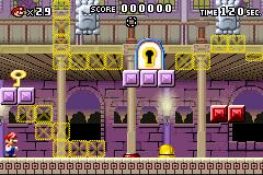 Level 4-1 in Mario vs. Donkey Kong