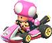 Toadette in Mario Kart 8