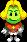 Sprite of Prince Peasley from Mario & Luigi: Superstar Saga + Bowser's Minions