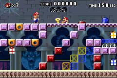 Level 4-2+ in Mario vs. Donkey Kong