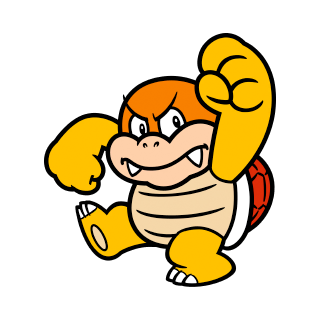 Boom Boom stamp from Super Mario 3D World + Bowser's Fury.