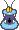 Overworld sprite of a Glurp from Mario & Luigi: Superstar Saga.