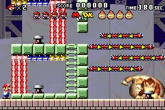 Level 6-DK in Mario vs. Donkey Kong