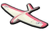Plane Glider from Mario Kart 8