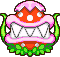 Mom Piranha's overworld sprite from Mario & Luigi: Superstar Saga