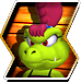 Kass's character selection icon from Donkey Kong Barrel Blast.