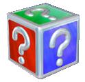 Mario Kart: Super Circuit promotional artwork: Item Box.