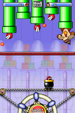 The third fight with Donkey Kong.