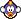 A Cheep Cheep's overworld sprite from Mario & Luigi: Superstar Saga.