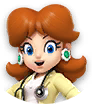 Icon of Dr. Daisy from Dr. Mario World