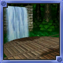 Jungle Falls arena from Mario Party 5