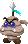 Sprite of an Elite Gritty Goomba from Mario & Luigi: Superstar Saga + Bowser's Minions.