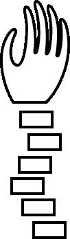 Sprite of an Underhand from Super Paper Mario.