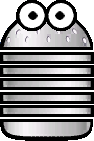 Sprite of a Zoing-Oing from Super Paper Mario.
