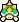 A Spiny's overworld sprite from Mario & Luigi: Superstar Saga.