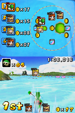 Dream Canoe in Mario & Sonic at the Olympic Games for Nintendo DS