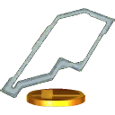 Trophy of Mute City in Super Smash Bros. for Nintendo 3DS