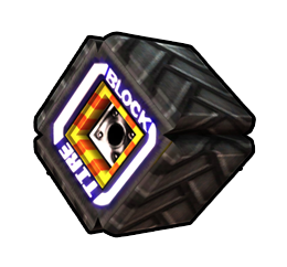 Square Tire from Mario Kart Arcade GP DX.