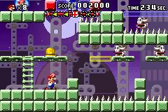 Level 6-1 in Mario vs. Donkey Kong