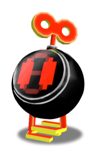 Bob-omb in Super Mario Sunshine.