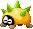 Sprite of a Sharpea from Mario & Luigi: Superstar Saga + Bowser's Minions.