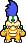 Overworld sprite of Larry from Mario & Luigi: Superstar Saga.