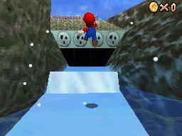 Mario at Snowman's Land