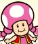 Sprite of Toadette from Mario Party: Star Rush