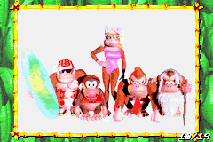 Page 10 of the Scrapbook in Donkey Kong Country