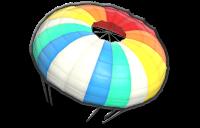 Parachute glider from Mario Kart 8