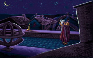 Galileo Galilei in the PC release of Mario's Time Machine