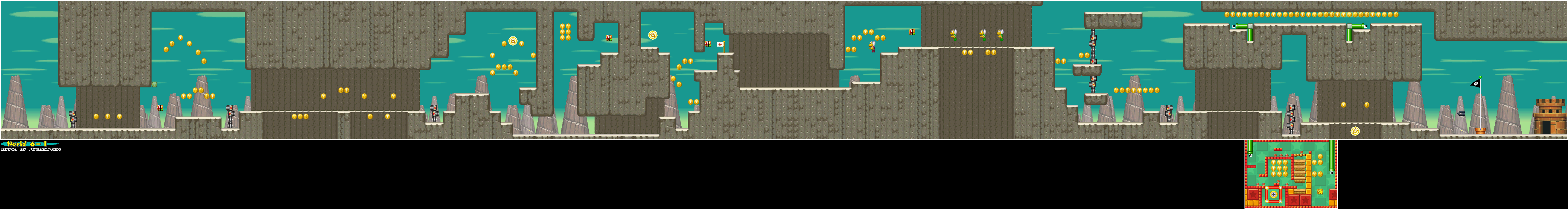 Map of World 6-1