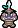 Overworld sprite of a Gritty Goomba from Mario & Luigi: Superstar Saga.