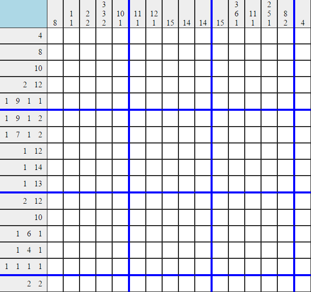 This is the easy picross