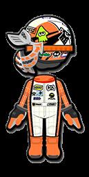 Inkling Mii racing suit from Mario Kart 8 Deluxe