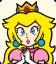 Sprite of Princess Peach from Mario Party: Star Rush