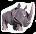 A Sticker of Rambi.