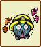 Icon for Sanpo Yokoi, one of the famous people who created microgames for WarioWare: D.I.Y.