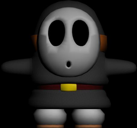 Black Shy Guy