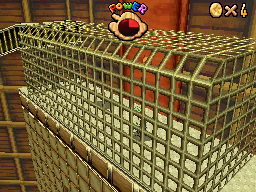 Luigi in the Cage