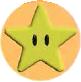 Mario Kart: Super Circuit promotional artwork: Star.
