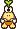 A Troopea's overworld sprite from Mario & Luigi: Superstar Saga.