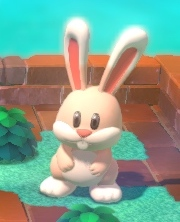 Giant Rabbit in Super Bell Hill of Super Mario 3D World