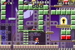 Level x-6 in Mario vs. Donkey Kong