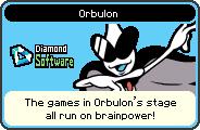 Orbulon's portrait from WarioWare: D.I.Y.