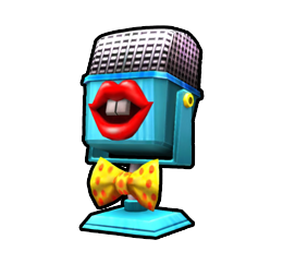 Gag Mic from Mario Kart Arcade GP DX