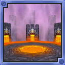 Bowser Stadium arena from Mario Party 5