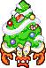 Overworld sprite of Hermie III from Mario & Luigi: Superstar Saga.
