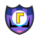 Waluigi's emblem from soccer from Mario Sports Superstars