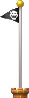 A Goal Pole as seen in New Super Mario Bros. U